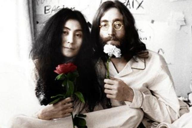 Yoko y John