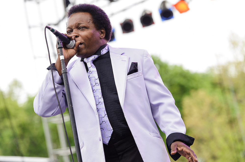 Photos of Lee Fields & the Expressions performing live at The Great GoogaMooga Festival at Prospect Park in Brooklyn, NY. May 18, 2013. Copyright © 2013 Matthew Eisman. All Rights Reserved (Photo by Matthew Eisman/WireImage)