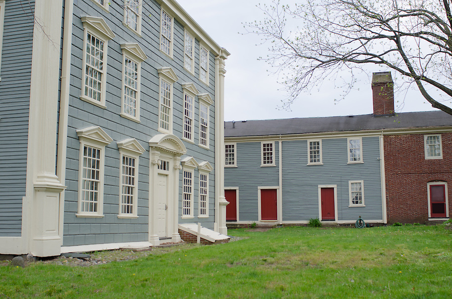 2016-05-13-Medford/Somerville-The Royall House and Slave Quarters were home to the largest slaveholding family in Massachusetts and over twenty enslaved Africans (Alex Knapp / The Tufts Daily). (Alex Knapp)