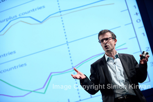 Robert Peston NAPF 2013 Manchester Central Convention Complex - Photo By Simon Kirwan
