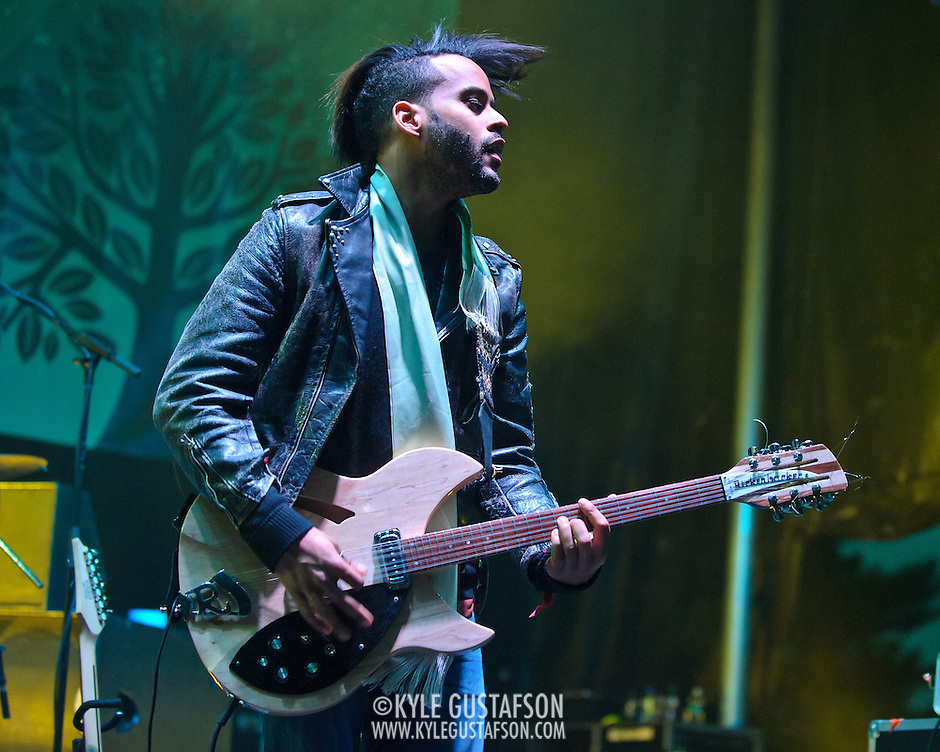 COLUMBIA, MD - April 28th, 2012 -   Twin Shadow perform at the 2012 Sweetlife Food and Music Festival at Merriweather Post Pavilion in Columbia, MD.  (Photo by Kyle Gustafson/For The Washington Post) (Kyle Gustafson/FTWP)