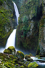 Wahclella Falls on Tanner Creek, Columbia River Gorge National Scenic Area, Oregon, US (Roddy Scheer)