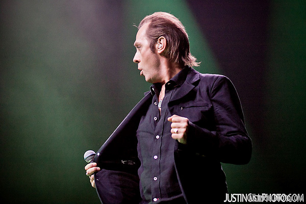 Peter Murphy concert @ Club Nokia Los Angeles (Justin Gill)