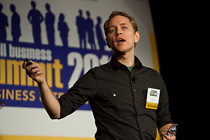 The Seventh Annual Small Business Summit by event photographer Jeffrey Holmes