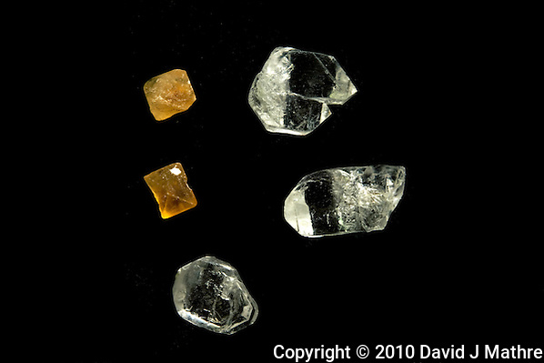 Random Rough Crystals. Image taken with Nikon D3x and 60 mm f/2.8 macro (ISO 100, f/11, 30 sec) (David J Mathre)