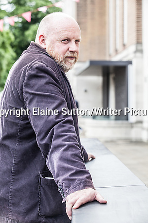 Ed Hillyer, aka Ilya, comic writer & artist and novelist, at Stoke Newington Literary Festival, London 2014 7th June 2014 Photograph by Elaine Sutton/Writer Pictures WORLD RIGHTS (Must Credit: Elaine Sutton/Writer Pictures)