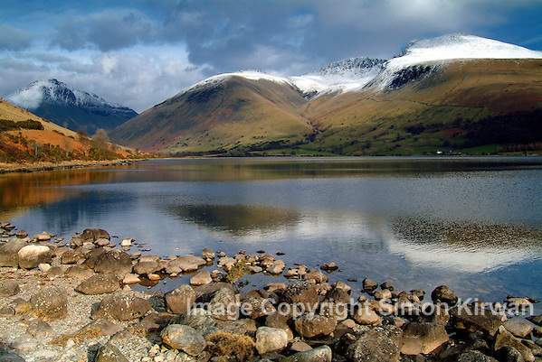 Scafells, Lingmell & Great Gable, Wastwater, Wasdale, Lake District National Park, Cumbria - Photography By Simon Kirwan