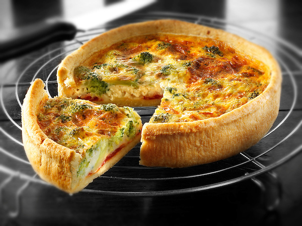 Broccoli quiche (Paul Williams)
