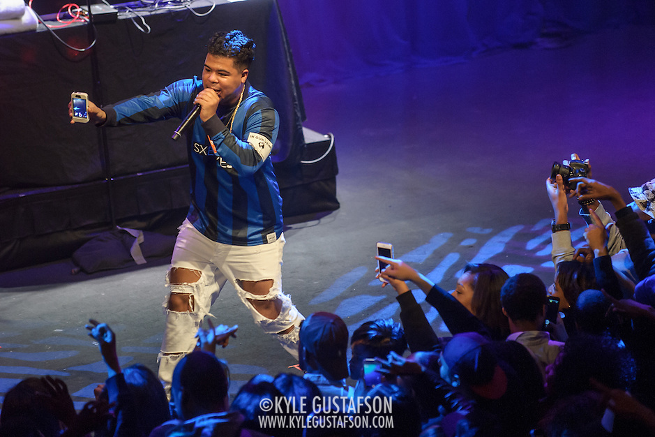 "WASHINGTON, DC - May 2, 2015 - ILoveMakonnen performs at the Howard Theatre in Washington, D.C. His 2014 EP ILoveMakonnen featured the single ""Club Goin' Up on a Tuesday"", which was later remixed by Drake to great acclaim. (Photo by Kyle Gustafson / For The Washington Post) (Kyle Gustafson/For The Washington Post)"