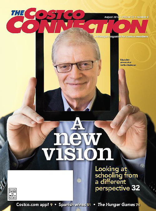 Sir Ken Robinson for Costco Connection
