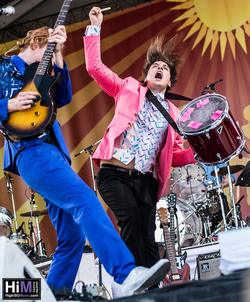 Arcade Fire performs at Jazz Fest 2014 in New Orleans, LA on Day 7. (HIGH ISO Music, LLC)