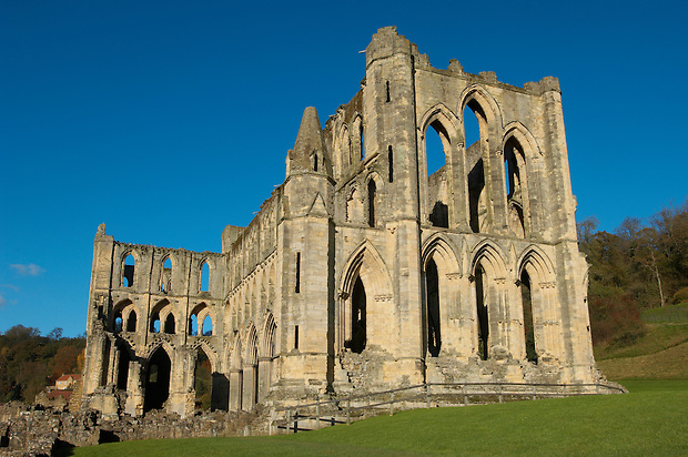 Rievaulx Abbey main church.North Yorkshire, England (Paul Williams)