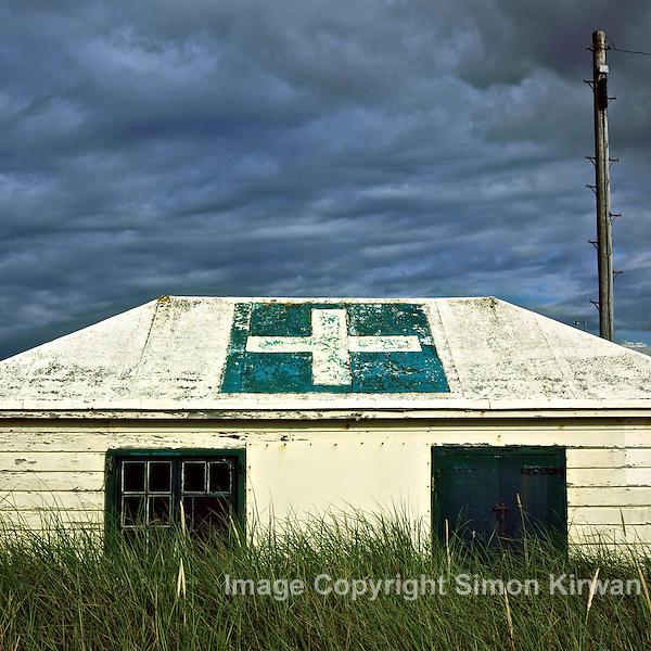Ainsdale Beach First Aid Post, Southport - photograph by Simon Kirwan