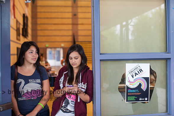 The Sonoma County College & Career-Ready Fair was held at Windsor High School on September 10, 2013. (Bryan Farley)