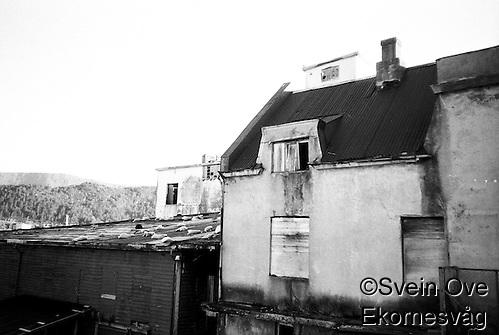 Et hus i forfall i Ålesund. Foto: Svein Ove Ekornesvåg (Svein Ove Ekornesvåg)