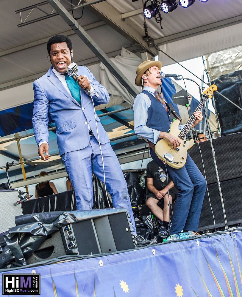 Vintage Trouble at the New Orleans Jazz and Heritage Festival on Day 6, in New Orleans, LA. (HIGH ISO Music, LLC)