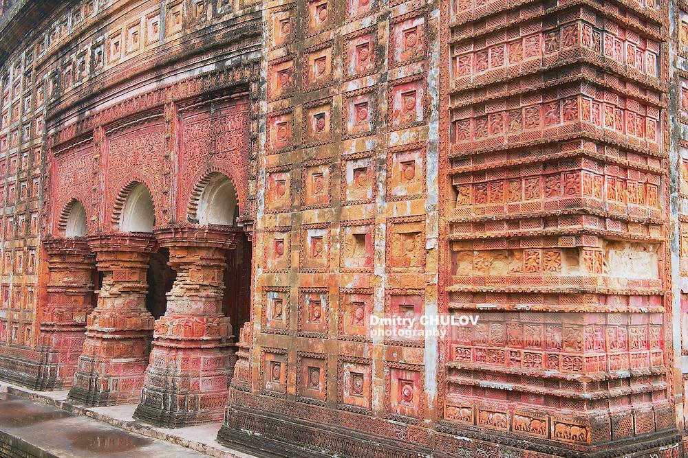 Pancharatna Govinda Temple in Puthia, Bangladesh. (Dmitry Chulov)