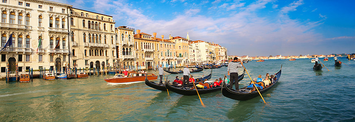 Gondolas on the Grand Canal - Venice - Italy (Paul Williams)