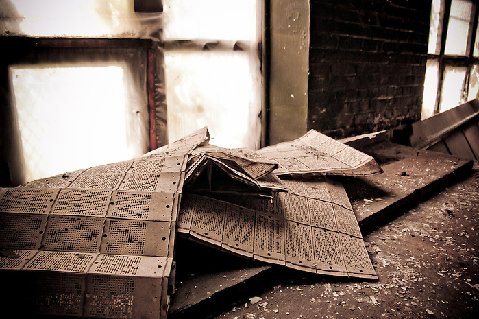 The Abandoned Scranton Lace Company in Scranton PA. (Walter Arnold)
