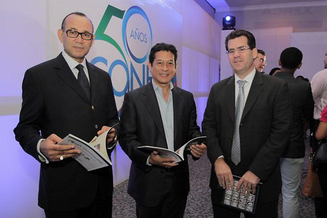 Víctor Castro, Yuri Chez y Franklin Báez