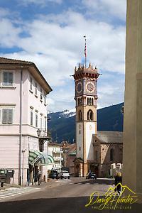 """Cavalese, Palazzo della Magnifica Comunità di Fiemme, a museum,  Dolomite Mountains, Trento, Italy (© Daryl Hunter's """"The Hole Picture""""/Daryl L. Hunter)"""