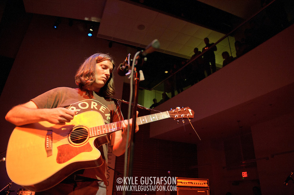 ARLINGTON, VA - April 7th, 2012 -  Kurt Heasley of The Lilys performs at Artisphere in Arlington, VA as part of Chickfactor Magazine's 20th anniversary weekend. (Photo by Kyle Gustafson) (Kyle Gustafson)