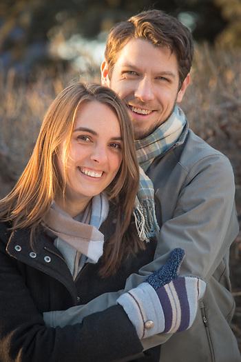 Kelsey Chapple and Ian Petersen, Anchorage (© Clark James Mishler)