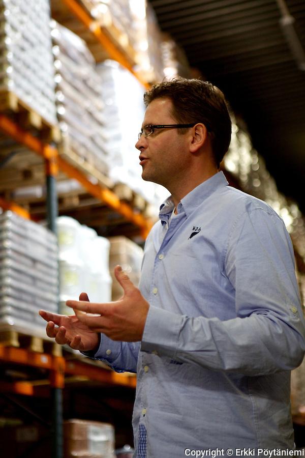 DO IT:n myyntijohtaja Frank Manders vastaa myös Suomen markkinasta. (Photographer: Erkki Poytaniemi)