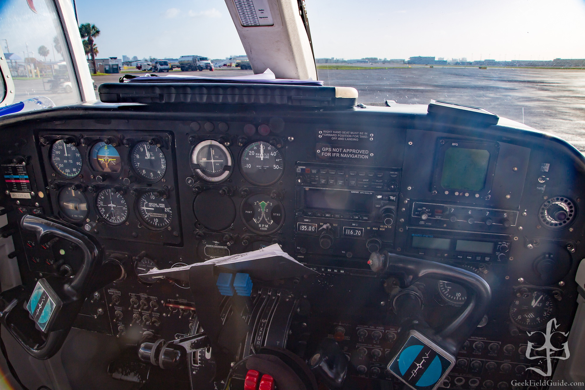 Cockpit of Britten Norman Islander (Warren Schultz)