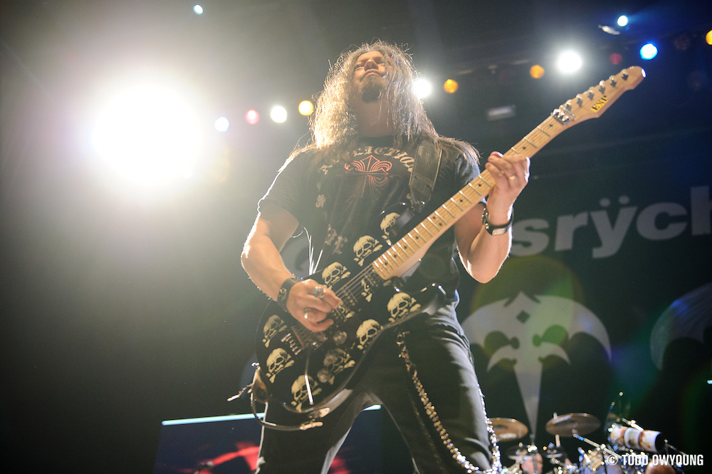 Queensryche  performing at the Pageant in St. Louis, Missouri on their 30th anniversary tour on August 16, 2011. © Todd Owyoung. (Todd Owyoung)