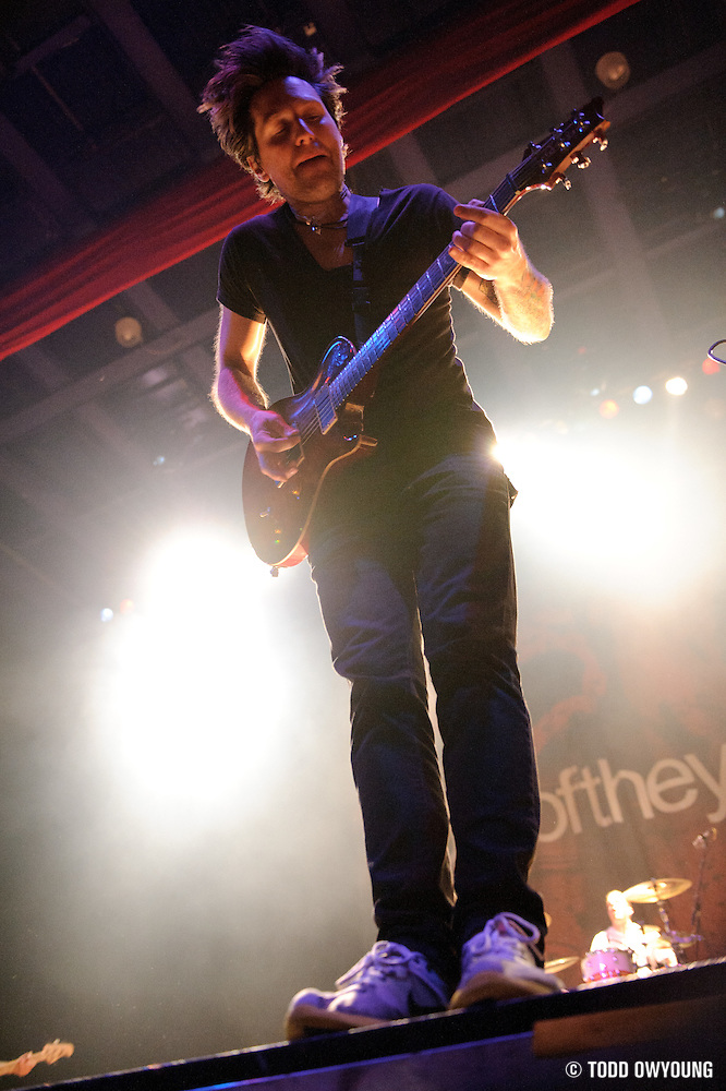 Photos of Story of the Year performing at the Pageant in St. Louis on February 4, 2011 (© Todd Owyoung)