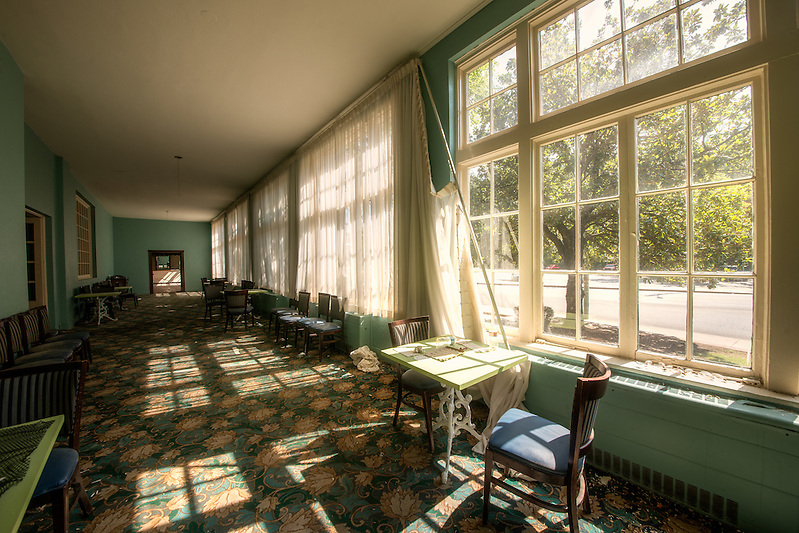 The Majestic Hotel in historic Hot Springs Arkansas. -Walter Arnold Photography 2012 (Walter Arnold)