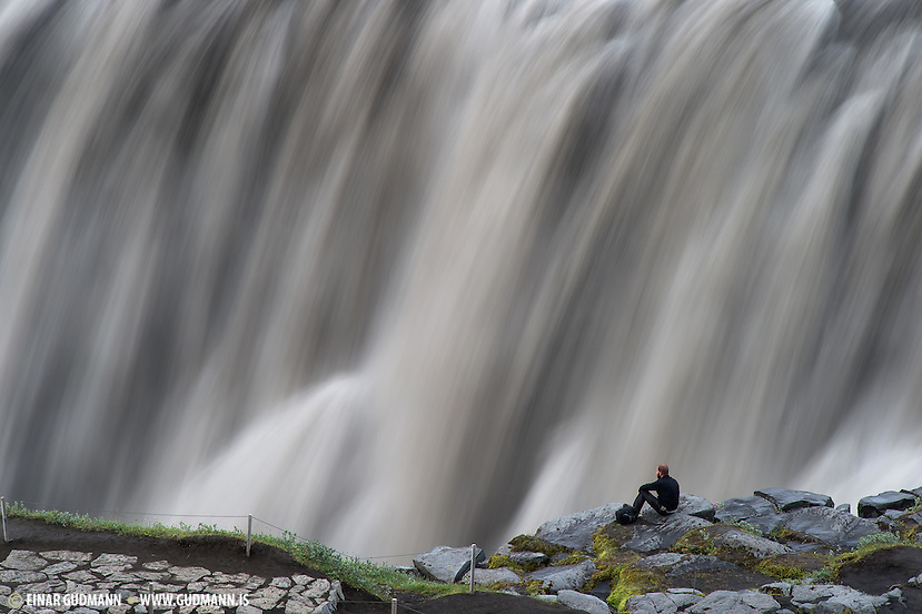 Dettifoss waterfall (Einar Gudmann)