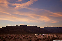 People enjoying the full-time RV life while camping off the grid in Anza Borrego State Park, California. (Seth K Hughes)