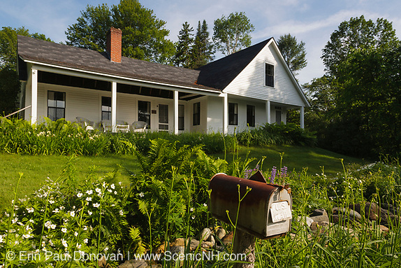 Robert Frost Homestead in Franconia, New Hampshire, which is part of the White Mountains region. This is an excellent homestead to bring children to.