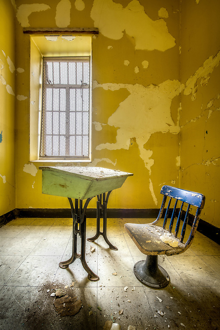 The historic Trans-Allegheny Lunatic Asylum in Weston, West Virginia (WALTER ARNOLD)