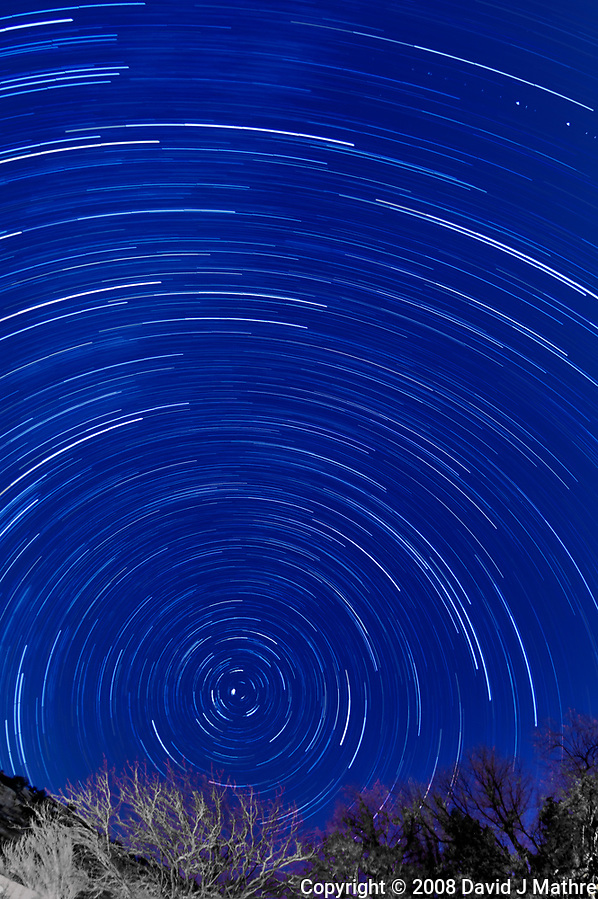 Star Trails. (David J Mathre)