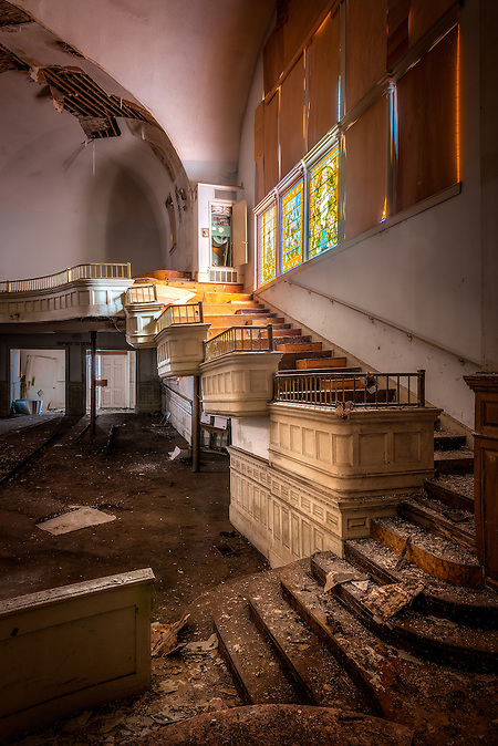 The Abandoned Clayborn Temple in Memphis, TN. Formerly the Second Presbyterian Church. (Walter Arnold)