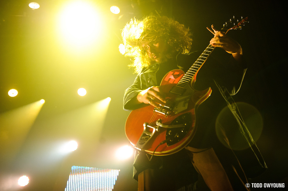 My Morning Jacket performing at the Pageant in St. Louis, Missouri on August 2, 2011. © Todd Owyoung. (Todd Owyoung)