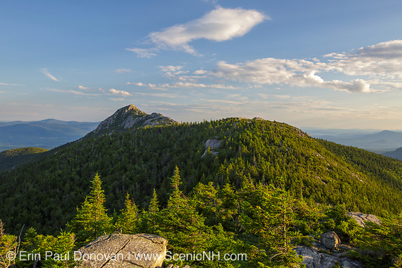 Mount Chocorua from Middle Sister Mountain in New Hampshire.