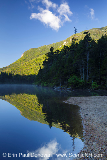 Greeley Ponds Scenic Area in the White Mountains, New Hampshire.
