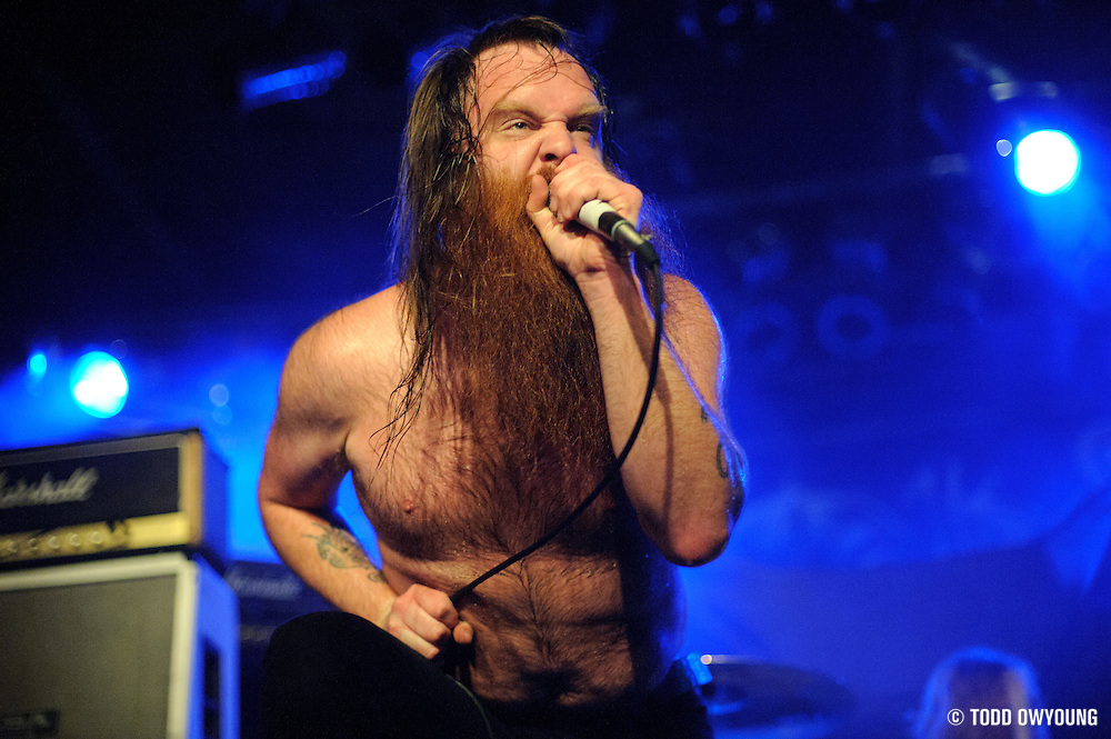 Photos of the hard rock band Valient Thorr performing on February 20, 2011 at Pop's in Sauget, IL. (TODD OWYOUNG)