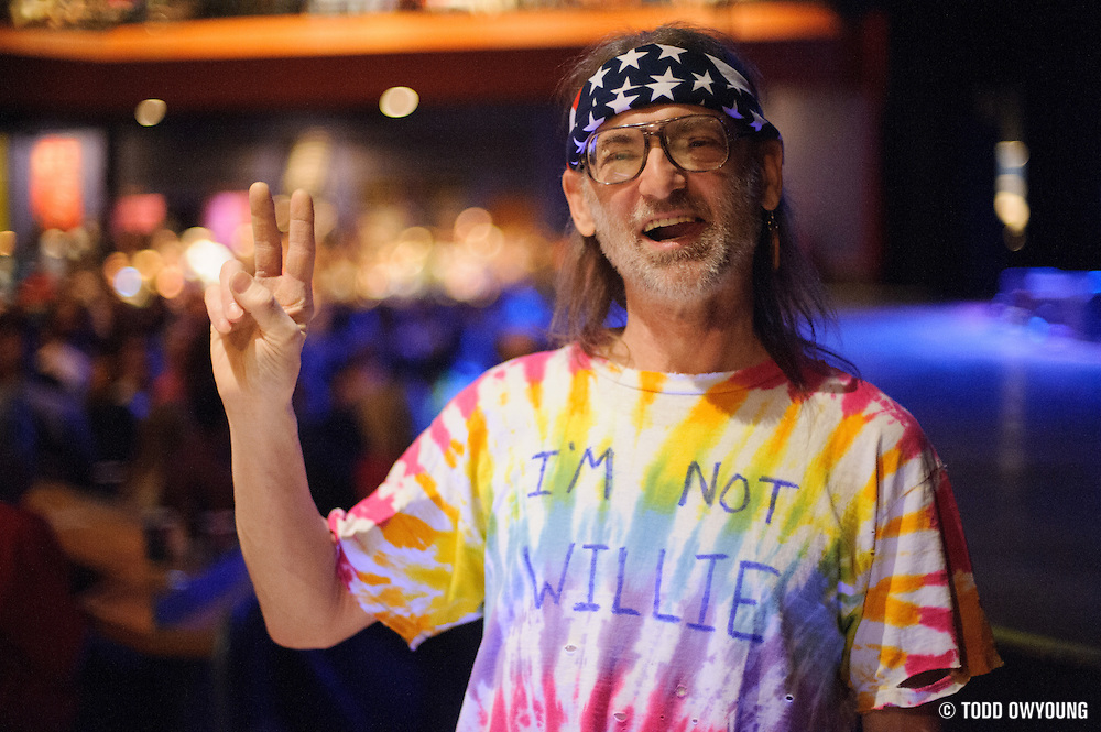 """""""Not Willie Nelson"""" - or is he? (TODD OWYOUNG)"""