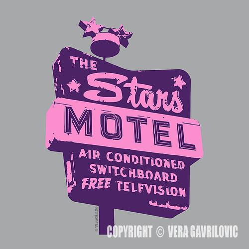 Vintage Sign Art by Vera Gavrilovic - VivaGirlCo (Vera Gavrilovic)