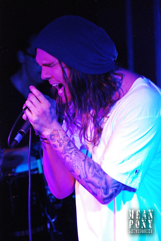 "Jared Watson of ""The Dirty Heads"" @  the Foundation Room, Park City, Utah 01.28.11 (Steven Wittenberg)"