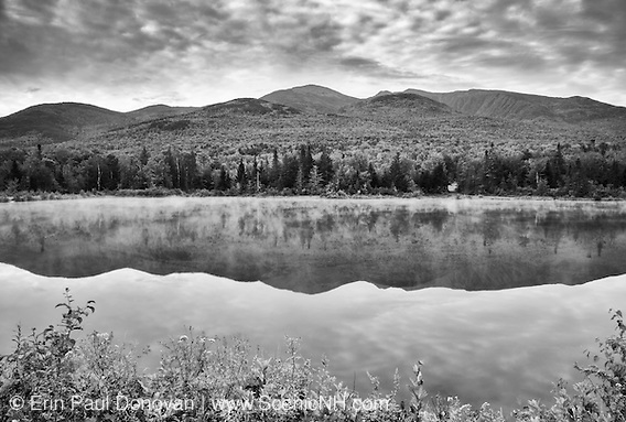 Northern Presidential Range from Durand Lake in Randolph, New Hampshire USA (Erin Paul Donovan | ScenicNH.com Photography)