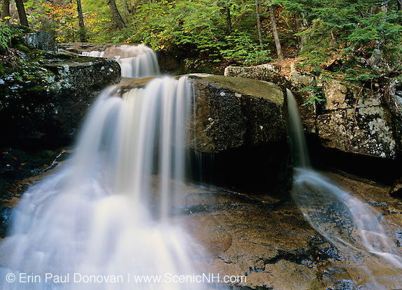 Ledge Brook which is near the Kancamagus Highway (route 112), which is  one of New England's scenic byways located in the White Mountain National Forest of New Hampshire.
