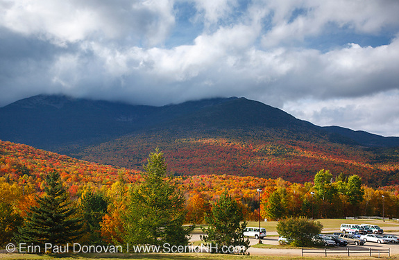 Mount Washington Valley - Pinkham Notch during the autumn months. Pinkham Notch is located along Route 16 in Gorham, New Hampshire USA, which is part of the White Mountains.