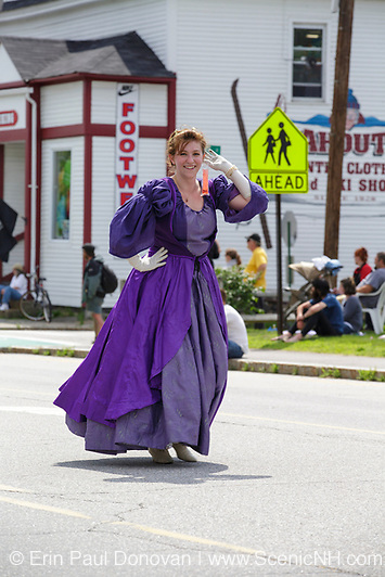 Lincoln - Woodstock 4th of July parade in Lincoln, New Hampshire.