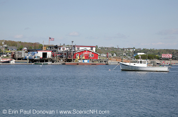 Views from Bailey Island Bridge -. Located in  Harpswell, Maine USA,  which is on the New England seacoast.  .Notes: .The  bridge is 1,150-foot long and was built in 1928. It connects Bailey Island and  Orr's Island, plus it is listed on the National Register of Historic Places. It is believed to be the only granite cribstone bridge left in the world today.